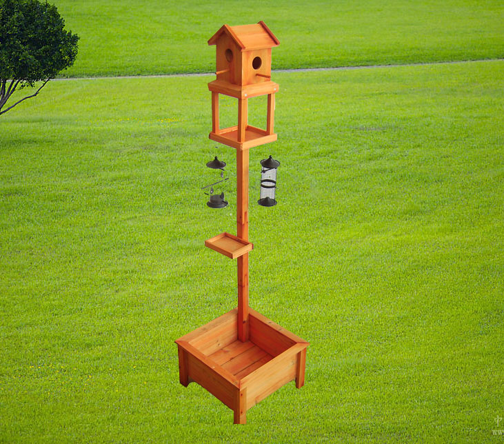 special wood bird table